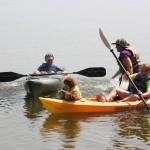 Kayaking at Camp Greenwell